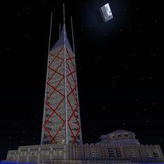 Bilgewater #minecraft #skyscraper