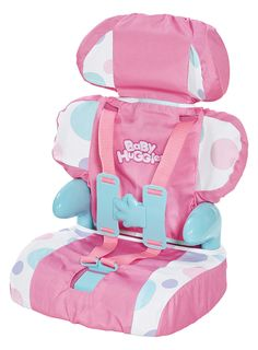 Cadson Car Seat and Booster with Seatbelt for Dolls and Stuffed Animals - Bring Your Favorite Friend for a Ride, Pretend Play Toy, Plush Travel, Pink, 13 Inches Baby Doll Car Seat, Baby Doll Toys, Baby Alive Dolls, Toddler Toys, Baby Car Seats, Baby Alive Doll Clothes, Kids Toys, Reborn Babypuppen, Reborn Baby Dolls