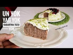 UN YOK, YAĞ YOK, KABARTMA TOZU YOK🌺ÖDÜLLÜ KURUFASULYE PASTAM🌺NO FLOUR NO OİL NO BAKİNG POWDER - YouTube Sweet Recipes, Cake Recipes, Yummy Food, Tasty, No Bake Cake, How To Make Cake, Cupcake Cakes, Clean Eating, Food And Drink