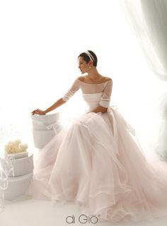 pink wedding Dress by La Sposa di Gio