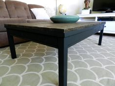Rustic Farmhouse Coffee Table Diy