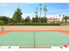 How'd you like your own private tennis court in your backyard?