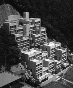 1995 laureate / Tadao Ando / Rokko Housing I, II, III