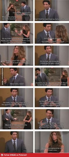 One of my favourite Ross and Rachel scenes:')