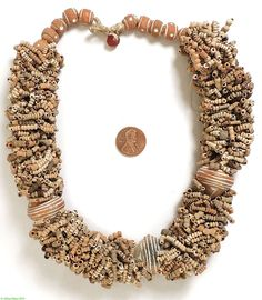 Clay Beads Spindle Whorls Tomb Terracota Necklace Mali African  Hand made terracotta beads