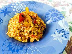 Ceno e posto: correte sul blog per la ricetta di questo saporitissimo e colorato #risotto fumè... #riso #carnaroli #peperoni #scamorza #cena #tacchiepentole #ricetta #cucina #amicincucina #lacucinaitaliana #cucinaitaliana #ricetteperpassione #merendaitaliana #dolce_salato_italiano #clarinafood  #italianfoodbloggers #cucinoperamore#lory_alpha_food #ricetta #cucina #kitchengirl http://www.kitchengirl.it/piccole-chicche/ceno-e-posto-risotto-fume-con-peperoni-e-provola-2/-