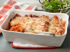 This weeknight casserole is cheesy and satisfying like lasagna--your family will be so impressed!--but takes a quarter of the time.