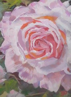 "Daily+Paintworks+-+""Rose+Allure""+-+Original+Fine+Art+for+Sale+-+©+Leanne+Owen"