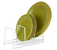 Honey-Can-Do KCH-02165 Cushion Coated Steel Wire Plate Rack, White by Honey-Can-Do. $8.67. Fits perfectly with most table counters, kitchens, and drawers. Sturdy and durable stainless steel is built to last, won't break easily. Free standing organizer needs no additional support, solid one piece unit. Vinyl coating helps prevent rust and scratches. Coated rack is gentle on your plates, lids, dishware, and china. Honey-Can-Do KCH-02165 Cushion Coated Steel Wire P...