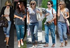 The denim brand which is creating a storm in the US are the Current/Elliott Boyfriend jeans. Vintage washes is what gives these jeans the upper hand. Celebrities who love the brand include Katie Holmes, Sarah Jessica Parker and Rachel Bil