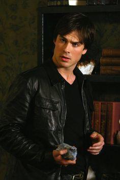 Ohh Damon Salvatore - Vampire Diaries. <3
