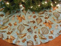 Hey, I found this really awesome Etsy listing at https://www.etsy.com/listing/129787107/steampunk-christmas-tree-skirt-christmas
