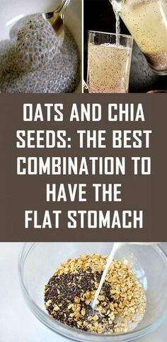 Breakfast is the most important meal of the day so you should always choose a healthy and nutritious meal to start the day. One of the best breakfast combinations are chia seeds and oats; they are nutritious, health beneficial and can provide you. Healthy Drinks, Healthy Snacks, Healthy Eating, Healthy Recipes, Healthy Nutrition, Chia Seeds Nutrition, Drink Recipes, Smoothie Recipes, Dinner Recipes