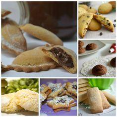 Biscotti e biscottini raccolta di ricette Italian Desserts, Mini Desserts, Italian Recipes, Confort Food, Biscotti Cookies, Plum Cake, Sweet Bakery, Four, Christmas Baking