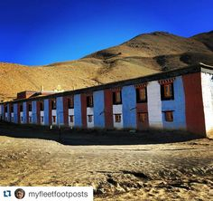 #Repost @myfleetfootposts with @repostapp Get featured by tagging your post with #Talestreet Tangyud monastery Komic village Spiti. The 800 year old monastery used to be located at another village close by called Hikkim. Due to the damage from the 70's earthquake it was rebuilt here. #tangyudmonastery #komic #spiti #himalayas #incredibleindia #travelstoke #talestreet #instahimachal #twitter
