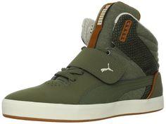 a136b6e99c22e3 PUMA Men s Suburb Hi Strap Cham Fashion Sneaker
