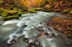 Autumn Colors in Bohemian Switzerland National Park, Czech Republic on PhotoBotos.com by Daniel Rericha