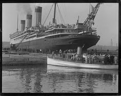 White Star Line MAJESTIC at Boston