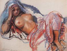 Marrakesh, 1932 by Zinaida Serebriakova (1884-1967, Ukraine)