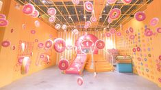 Enjoy a dessert-themed museum, craft your dream holiday and more this weekend Air Balloon, Balloons, Indoor Play Places, Giant Lollipops, Public Garden, Candyland, Pet Clothes, Classical Music, Installation Art