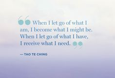 Sit with this one for a bit...from the Tao Te Ching