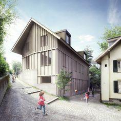 Armon Semadeni Architekten – Kinderkrippe Lorraine, Bern
