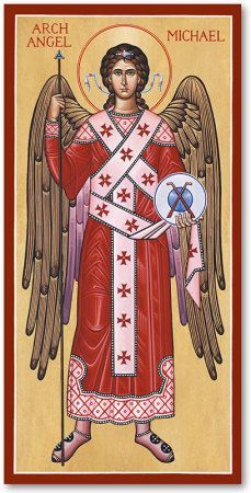Browse the entire collection of Catholic Icons, such as this Saint Michael the Archangel Icon, today at Monastery Icons. Catholic Art, Catholic Saints, Orthodox Catholic, St Micheal, Saint Michael, Religious Icons, Religious Art, Monastery Icons, Angel Protector