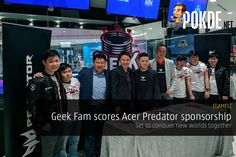 Acer Malaysia signed a MoU, sponsoring Geek Fam their top-tier Predator gaming equipment to enable the team to push forward further and harder to leave their mark in the gaming scene, locally and internationally.   Share this:   Facebook Twitter Google Tumblr LinkedIn Reddit Pinterest Pocket WhatsApp Telegram Skype Email Print