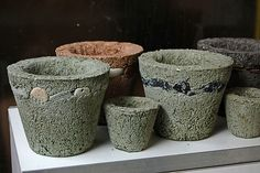 Pots to select.