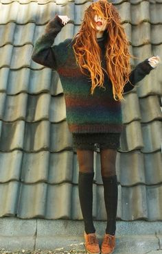 Imagem de girl, grunge, and style