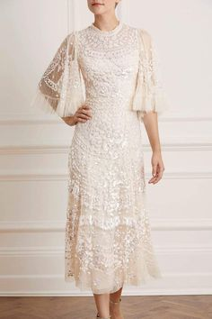 New Wedding Dresses, Prom Dresses, Formal Dresses, Lace Dresses, Needle And Thread Dresses, Ballerina Dress, Sequin Gown, White Sequin Dress, Lace Design