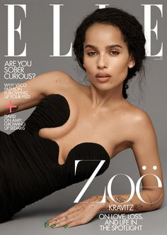 "Zoë Kravitz Talks Best Part of Being Married, ""High Fidelity"" and ""Big Little Lies"" for ELLE Magazine Zoe Kravitz, Zoe Isabella Kravitz, Big Little Lies, Elle Magazine, Gq Magazine Covers, End Of The Week, Elle Us, Teen Vogue, Nicole Kidman"