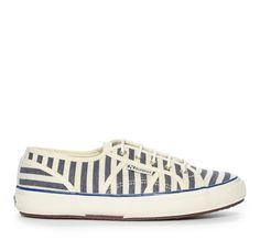Nilson Shoes Sneakers SUPERGA, SCOTCH & SODA STRIPED Textil Blå