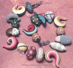 Schmuck herstellen mit Polymer Clay: Unikate in der Millefiori-Technik aus FIMO und mehr: Amazon.de: Donna Kato, Anke Humpert: Bücher