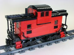 LEGO Caboose MOC | Flickr - Photo Sharing!
