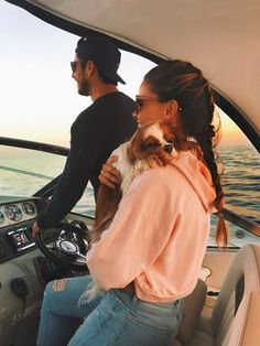 Sunset Cruising, Shots, & Gettin' Slim Down Ready! I LOVE cruising because I love to go places with my Mom. It is even better if I get the chance to snuggle wth Mom. I am a happy camper in this summer photo.