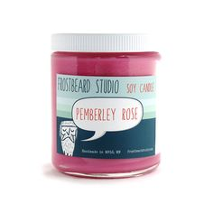 Pemberley Rose | 14 Rad Scented Candles Inspired By Books - I want them ALL!!!!!