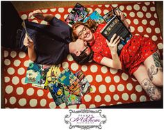 Charleston engagement session | Comic book engagement session | charleston photographer