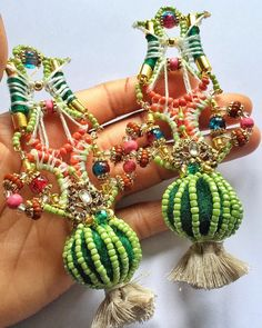 """""""Happiness always looks small while you hold it in your hands but let it go and you learn at once how big and precious it is. -Maxim Gorky The Sachi earring coming soon online. #anitaquansahlondon #jewelrygram #bohochic #details #glamour #artisanjewelry #earrings #jewelrylover #fashionforward #style #instastyle #fashion #statementjewelry #stylegram #jewelry #trending #fashionista #musthave #fashionjewelry #fashionista #artisinal #jewellery #handmade #handmadejewelry #jewelrydesigner #design"""