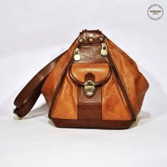 Vintage Gianni Conti Brown Deer Leather Shoulder by MRetroBoutique, $50.00