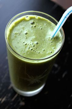 The first green smoothie I ever made!