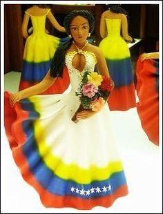 Beautiful clay dolls in Venezuela, (muñecas de arcilla)