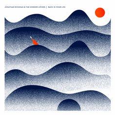 Vinyl cover - Jonathan Richman & The Modern Lovers. Graphic Poster, Art Design, Illustrations And Posters, Graphic Design Illustration, Illustration Design, Visual Design, Design Art, Cover Design, Graphic Art