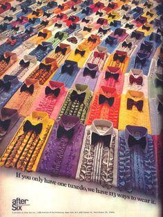 113 Ruffled Shirts 1970's