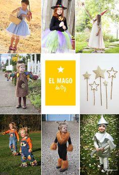 Disfraces para niños inspirados en el cuento del Mago de Oz
