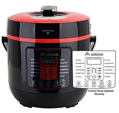 Aobosi YBW60-100Q1 Programmable Pressure Cooker 6Qt/1000W Stainless Steel Cooking Pot Digital Cooker // http://cookersreview.us/product/aobosi-ybw60-100q1-programmable-pressure-cooker-6qt1000w-stainless-steel-cooking-pot-digital-cooker/  #cooker #pressure #electric