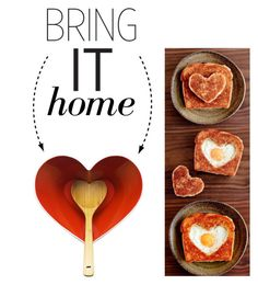 """""""Bring It Home: Dot & Bo Heart Bowl and Bamboo Ladle"""" by polyvore-editorial ❤ liked on Polyvore featuring interior, interiors, interior design, home, home decor, interior decorating, Dot & Bo and bringithome"""