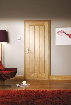 Suffolk Internal Oak Door  Lifestyle Roomshot 2