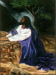 And He Prayed in the Garden by Herman Woodall