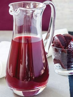 Şalgam Suyu - Turkish soft drink that tastes like pickle juice. Spicy or plain.